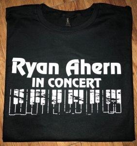 Ryan Ahern in Concert T Shirt