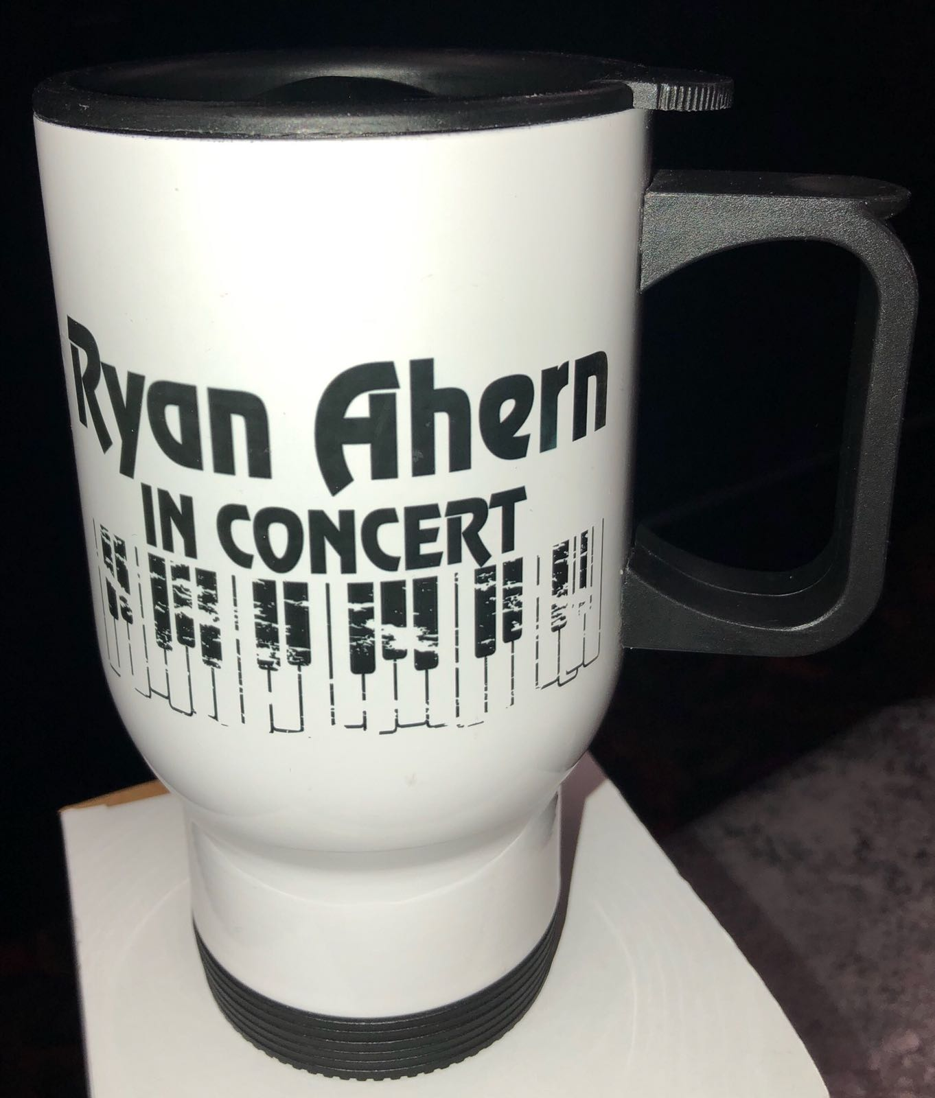 Ryan Ahern in Concert - Steel Coffee Tumbler